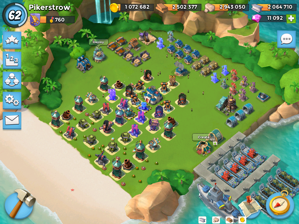 Boom Beach universal defense