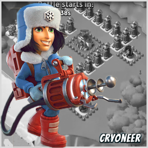 Cryoneer. Boom Beach