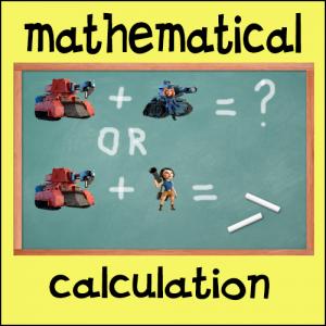 Mathematical calculation boom beach