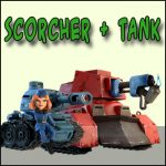 Scorchers and Tanks. Basic factors.