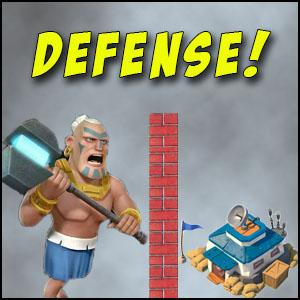 Defense against Warriors boom beach