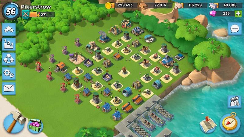 Boom Beach good defense HQ15