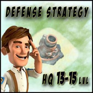 Defense strategy in Boom Beach