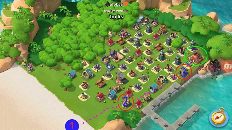 Warriors attack scheme