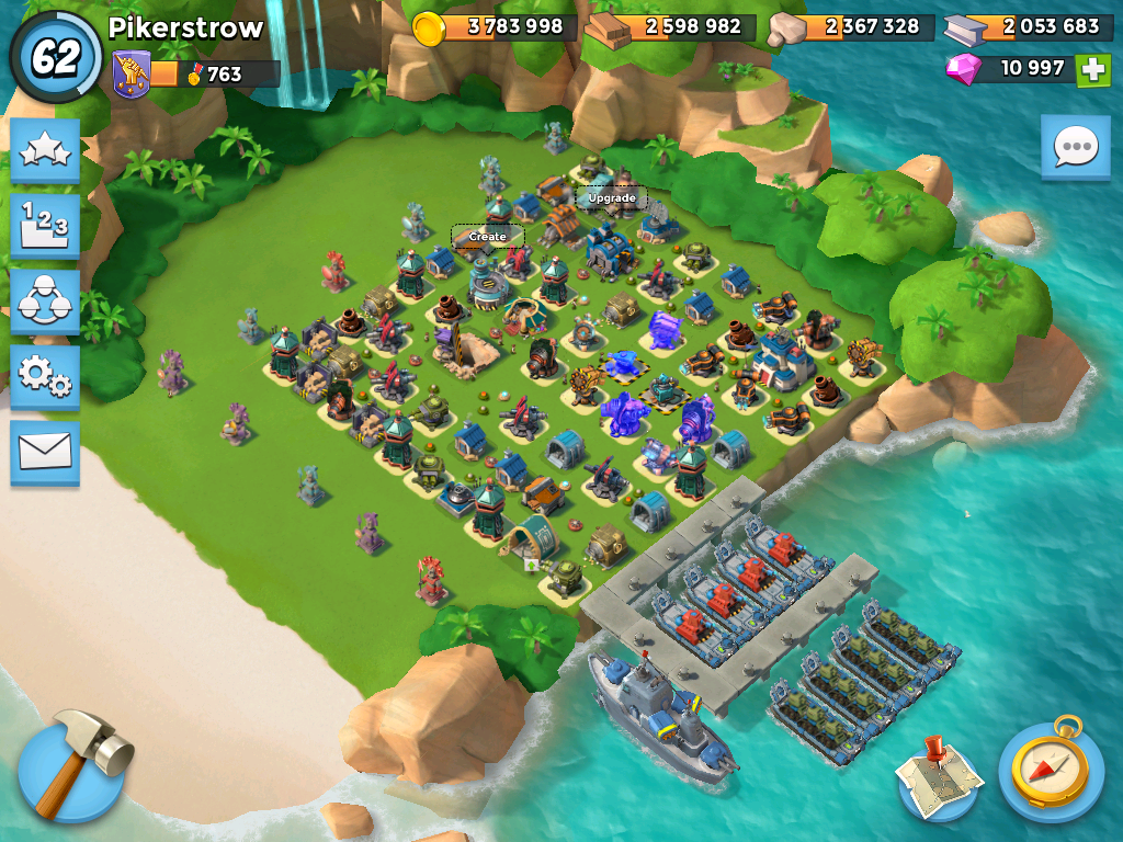 Boom Beach Defense 2