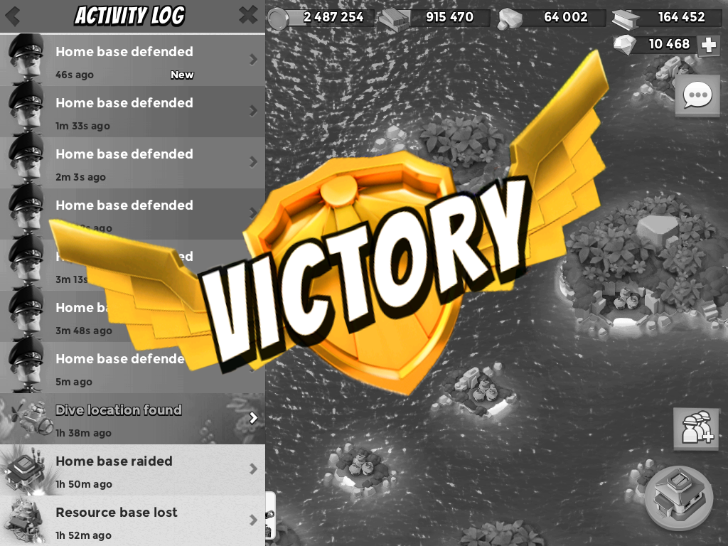 Boom Beach Victory