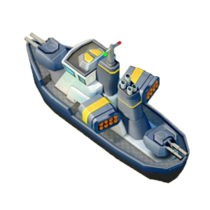 Gunboat boom beach