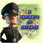 Three variants of defense against Hammerman