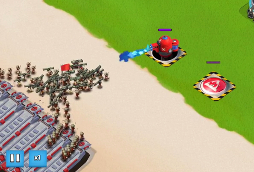 hot pot boom beach action