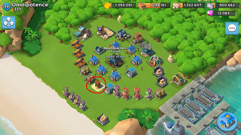 base without defense boom beach