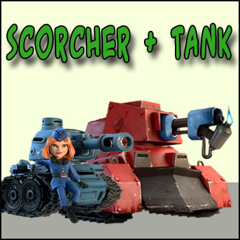scorchers and tanks boom beach all about the game