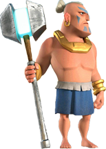 Warrior boom beach