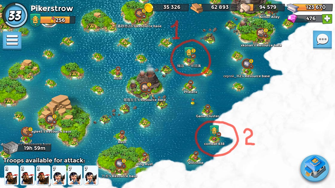 Boom Beach Map Matchmaking system | Boom Beach. All about the Game! Boom Beach Map