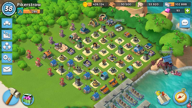 Boom Beach Levels Of Building S