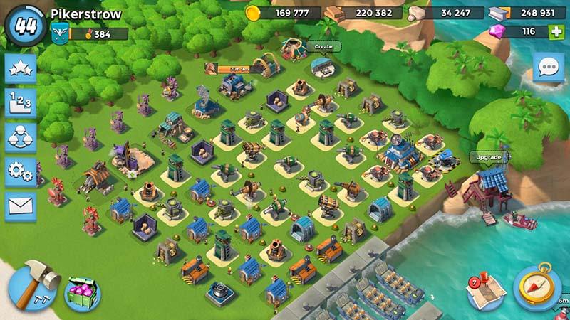 Best defense placement HQ 17