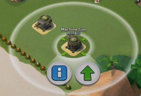 Machine Gun blind zone