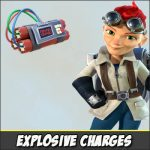 Explosive Charges – an underestimated ability of Cpt. Everspark